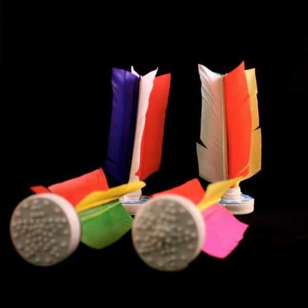 Lot de 4 Da Cau Competition de couleurs différentes aux couleurs variées